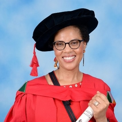 It's Another First for Dr. Ncoza Dlova!