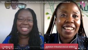 Everyday Sheros: Survivors' Network Founder Awah Francisca Mbuli [Video]